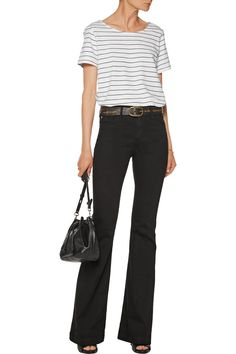 AG JeansJanis mid-rise bootcut jeans front