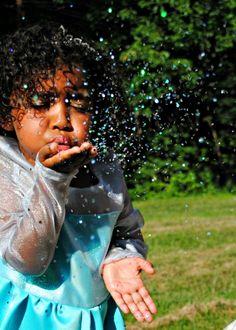 Fun With Glitter Photo Shoot