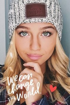 warm this winter and make a difference in the lives of children battling cancer!Keep warm this winter and make a difference in the lives of children battling cancer! Blonde Balayage, Blonde Highlights, Fall Winter Outfits, Autumn Winter Fashion, Winter Style, Fall Fashion, Winter Hats, Love Your Melon, Just Dream