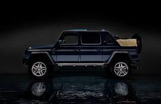 Mercedes-Benz hat heute erste offizielle Bilder des neuen Mercedes-Maybach G 650 Landaulet veröffentlicht, welches man am Genfer Autosalon 2017 erstmals der Weltöffentlichkeit vorstellen wird. Und es ist eine G-Klasse, wie nie zuvor – wenn auch die 12-Zylinder Motorisierung mit 630 PS (1.000 Nm Drehmoment) sowie die Portalachsen bereits durchaus bekannt sind. Grundpreis von 630.000 Euro …