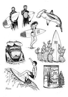 Print Flash Tattoo sheet | @MelodiePerrault                                                                                                                                                      More