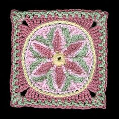 Ravelry: In Like a Lamb, Out Like a Lion 9-12 Afghan Block. Free pattern by Margaret MacInnis.