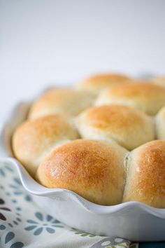 Honey Butter Rolls - Table for Two