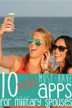 10 more apps to help military spouses! Awesome!