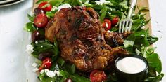 This Greek Lamb Shoulder is melt-in-your-mouth delicious! Enjoy it on a warm day with a light green salad or cook it up on a Sunday night.