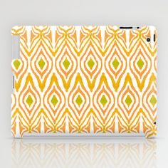 Ikat Tangerine iPad Case + free shipping ends 26/1/2014