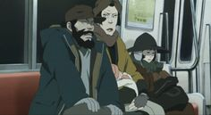 Screenshots from one of my favourite films. There are so many great scenes with excellent composition and use of colour in Satoshi Kon's 'Tokyo Godfathers'. Tokyo Godfathers, Satoshi Kon, Japanese Film, Manga Artist, Fantasy Movies, Hayao Miyazaki, Film Director, Great Movies, Anime