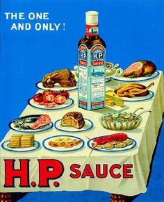 hp sauce Hp Sauce, English Fish And Chips, Cumberland Sausage, Simply Yummy, British Dishes, Fish And Chip Shop, Savory Herb, Bangers And Mash, Food Icons