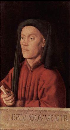 Portrait of a Young Man - Jan van Eyck - WikiPaintings.org