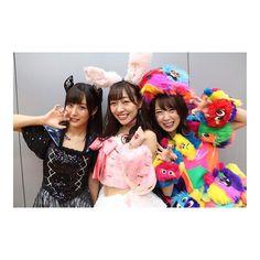 TRICK OR TREAT 😈💗 #churicamera #TSPOOK #ske48 #halloween #excitingtimes #halloweencostume #me #bat #rabbit #fashionmontreal #senior #admiration #japan nacky_k82987