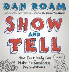 Show and Tell: How Everybody Can Make Extraordinary Presentations by Dan Roam, http://www.amazon.co.uk/dp/0241004373/ref=cm_sw_r_pi_dp_2ecOtb12QVNQ6