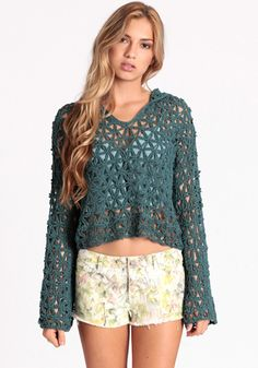 Long Summer Nights Hoodie By Free People 148.00 at threadsence.com