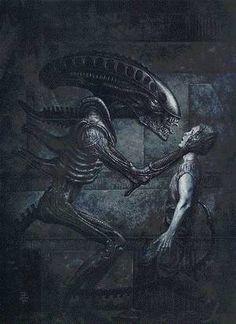 Aliens Ltd Ed Lithograph :: Profile :: Dark Horse Comics