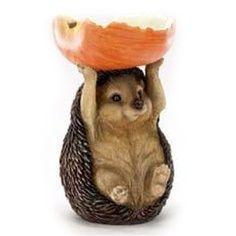 For my hedgehog garden
