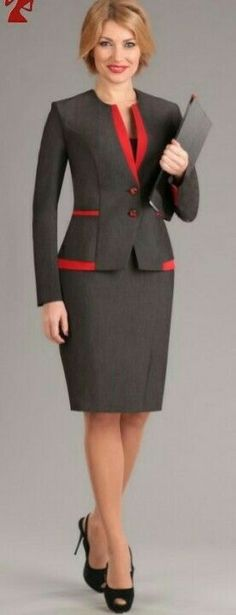 Womens Dress Suits, Suits For Women, Clothes For Women, Work Fashion, Fashion Outfits, Womens Fashion, Classy Suits, Corporate Attire, Business Attire