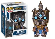Funko Pop Games: World of Warcraft - Arthas Vinyl Figure