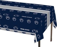 Penn State Blue & Silver Tablecloth - $8 from Team Tailgate Shop