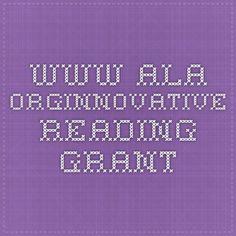 www.ala.orgInnovative Reading Grant