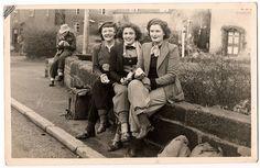 1940s cyclists. Erdington social and cycling club
