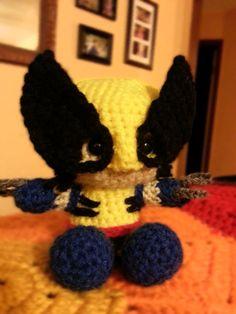 Crochet Wolverine