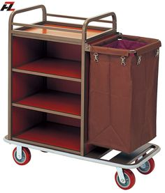 Hotel Metal Housemaid Cart-Housemaid Trolley