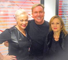 Denise Welch me and Fiona Walsh at Lincoln Townley art launch