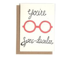 This gives me an idea for Valentines for my students - funny glasses with a card that says this (of course I'll have to explain the pun since they're in kindergarten :)