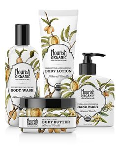 Signature Value Set - Body Wash, Body Lotion, Body Butter, & Hand Wash in the fragrance of your choice. $30.37 (Save 20%)