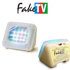 Almost electronic: FakeTV, unusual home security device