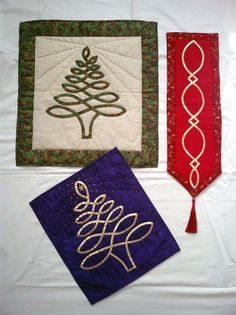 Celtic Tree and Bell Pulls