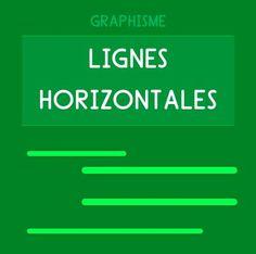 Graphisme Maternelle - Une vaste délection d'ateliers et fiches de graphisme pour s'exercer sur les lignes horizontales en Maternelle Petite Section MS GS.