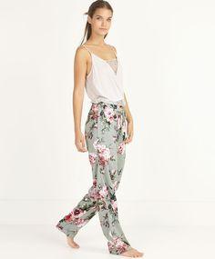 Hydrangea pants - OYSHO