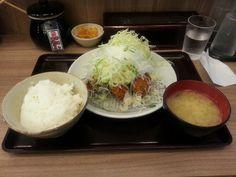 葱バカヒレかつ定食 ¥850