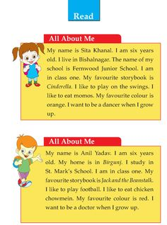 Writing skill - grade 1 - descriptive - my favorite fruit English Activities For Kids, English Stories For Kids, Learning English For Kids, Teaching English Grammar, English Worksheets For Kids, English Lessons For Kids, English Writing Skills, English Reading, English Language Learning