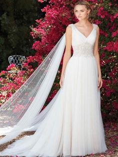 Get Gorgeous with Casablanca Bridal's Secret Garden Collection