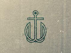 TW Anchor Monogram