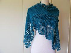 No pattern, but beautiful shawl