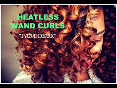 Create Heatless Wand Curls Using Flexirods - Pay attention To Technique And Product