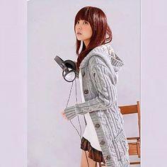 Mujeres sudadera con capucha Cable Button Abrigo Punto – EUR € 27.07