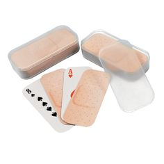 Bandage-Shaped Playing Cards - OrientalTrading.com