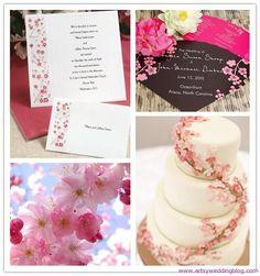 Cherry Blossom Themed Wedding decoration