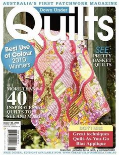 PATCHWORKS-Quilts 222 - Rosane Al - Álbuns da web do Picasa Sewing Magazines, How To Make Purses, Basket Quilt, Book Quilt, Book Crafts, Craft Books, Patch Quilt, Quilting Projects, Quilt Patterns