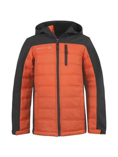 Boys' Citrus Softshell-Quilted Hybrid Jacket - Free Country