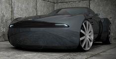 The Aston Martin V8 Vantage..A concept Car!