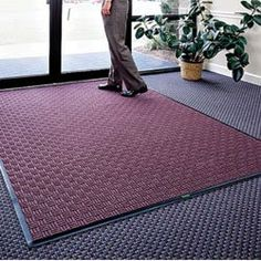 ANDERSEN WaterHog Masterpiece Select Mats - Light gray by WaterHog Masterpiece. $39.80. ANDERSEN WaterHog Masterpiece Select Mats are specially designed for indoor entrances with heavy traffic. Unique grid pattern scrapes dirt and water off feet from all directions. Made from 25% recycled rubber and 24% recycled polypropylene. Molded-on reinforced crush-resistant rubber ribs, while the entire mat is backed with slip-resistant Tri-Grip cleating. Water dam on all sides traps...