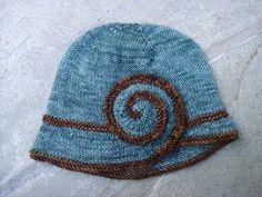 Escargot Knit Hat