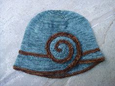 Escargot Knit Hat