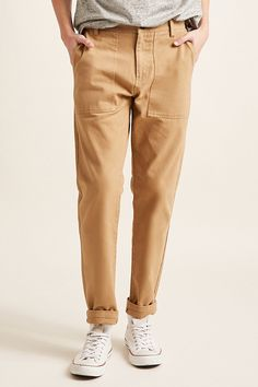 Product Name:Slim-Fit Twill Pants, Category:mens_bottoms_trousers-chinos, Price:24