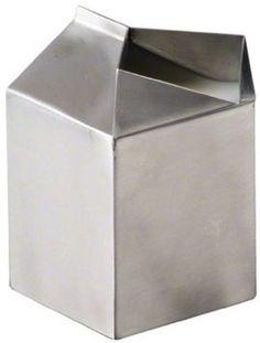 designbinge:  American Metalcraft MCC300 Stainless Steel Milk Carton Creamer American Metalcraft, Coffee Service, Restaurant Equipment, Serveware, Casserole Dishes, Stainless Steel, Cool Stuff, Milk, Metals