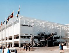 Expo 67 - Scandinavia Pavilion - Bill Cotter collection
